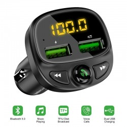Adapter for car - phone - bluetooth - wireless fm - mp3 - handfree