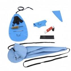 Kit de limpieza de saxofón 10 en 1: paño de limpieza / grasa de corcho / apoyo para el pulgar