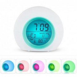 Alarm clock - night glowing - delightful for children - home decor