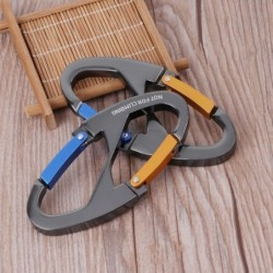 Buckle keychain - snap clip - hiking - outdoor camping