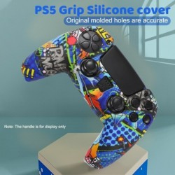 Silicone controller case cover - for PlayStation 5 / PS5