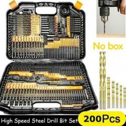 HSS twist drill bit set -...