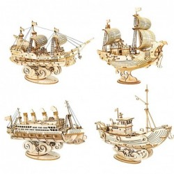 3D boat model - wooden...