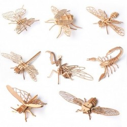 3D insects - wooden puzzle
