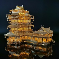 Ancient Chinese mansion -...