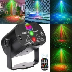 Laser light  - led - red - blue - green - usb - rechargeable - entertainment