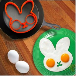 Silicone Rabbit Egg Pancake Shape