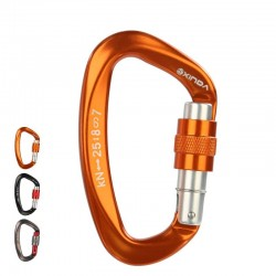 Buckle - carabiner - climbing safety equiment - rock climbing