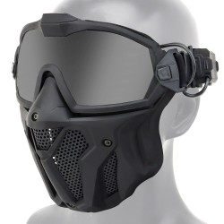 Face mask - full protective  -anti-fog system - motorcross - paintball hunting - all purpose