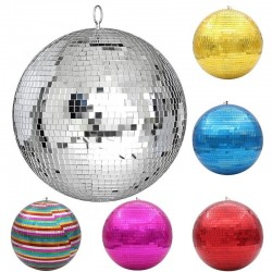 Disco ball stage light - rotating glass ball - party decorations