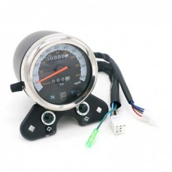 Motorcycles - speedometer - universal - backlight - dual speed  - led