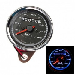 Motorrad-Tachometer - doppelte LED-Hintergrundbeleuchtung