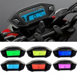 Velocímetro de motocicleta - 12V - resistente al agua - Pantalla digital LCD - para Honda Grom 125 MSX125