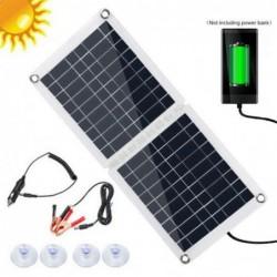 Portable solar panel charger - 2V 5V 6V 9V 18V - for battery cell phone