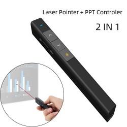 2 in 1 Laserpointer - mit PPT-Controller - drahtlos - RF 2.4G