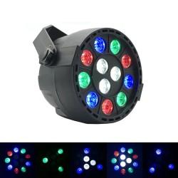 Strobe Bühnenlicht - RGB - LED - mit Fernbedienung / Soundsteuerung - für Party / Disco