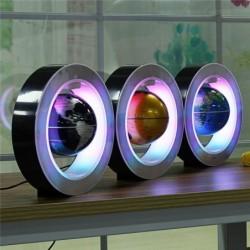 Schwebender / schwebender Magnetglobus - Weltkarte - Nachtlicht - LED
