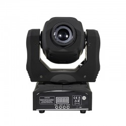 LED moving head light - 60W - with remote control - disco / party / stage