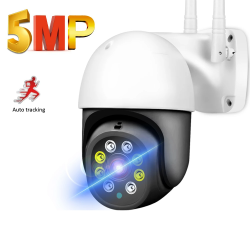 5MP / 1080P - WiFi - P2P - PTZ - 4x zoom - CCTV security camera - waterproof