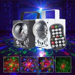 Crystal disco magic ball -  60 patterns - laser projector