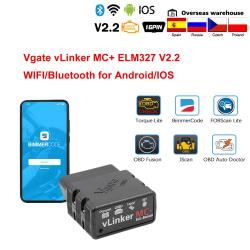 Autoscanner / Diagnosegerät - Bimmercode - MC / ELM327 - WiFi / Bluetooth - OBD2 - für Android / IOS