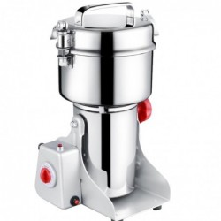 Electric dried herbal food grinder - - ultra-high speed - also for cereals - 700grams