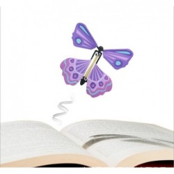 Flying butterfly toy - magic props - kids / children