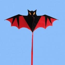 Bat shaped kite - 110cm - kids / children