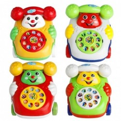 Telephone with wheels - riding toy - with sound