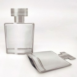Aluminium-Lebensmittelbeutel - Mylar-Beutel - geruchsdicht - heißversiegelt - 100 Stück