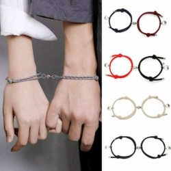 Couples magnet attraction braclet - unisex - gift - 2 pieces