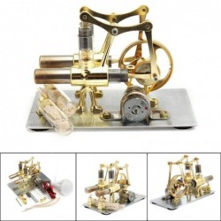Stirling engine model - steam power technology - educational toy
