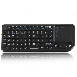 Rii mini X1 2.4G Draadloos Qwerty Toetsenbord Touchpad Muis PC Notebook TV Box