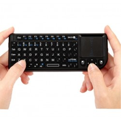 Rii mini X1 2.4G Wireless Qwerty Keyboard Touchpad Mouse PC Notebook TV Box