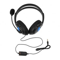 Playstation 4 PS4 PC Wired Gaming Headset Headphones With Microphone