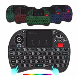 Rii X8+ - mini wireless keyboard - LED - 2.4GHz - with touchpad - Android TV Box / PC