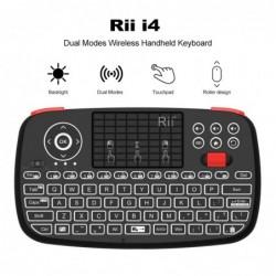 Rii i4 - kabellose Mini-Tastatur - Bluetooth - Layout in Englisch / Russisch / Spanisch / Französisch / Hebräisch