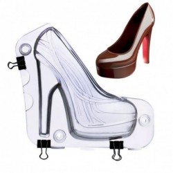 3D heel shaped - baking mold - DIY - cakes / chocolate fondant