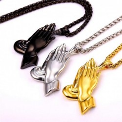 Necklace  - praying hands...