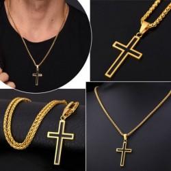 Halskette mit Kreuzanhänger...