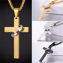 Cross  and chain necklace...
