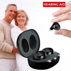 Hearing aid - invisible -...