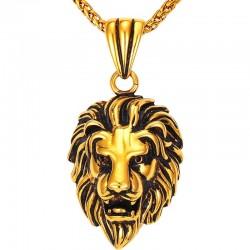 Löwenkopf-Anhänger -...