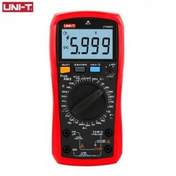 UNI-T - digital multimeter - True RMS / UT890C / UT890D / AC / DC temperature tester - with backlight