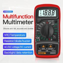 ANENG AN8205C multimeter - digital - portable - backlight
