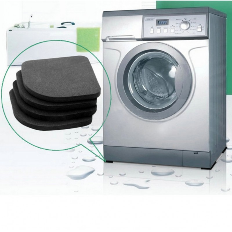Washing Machine - Refrigerator Non-slip Shock Pads 4pcs
