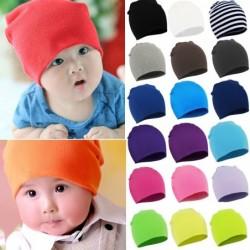 Cotton beanie hat - unisex - kids / children