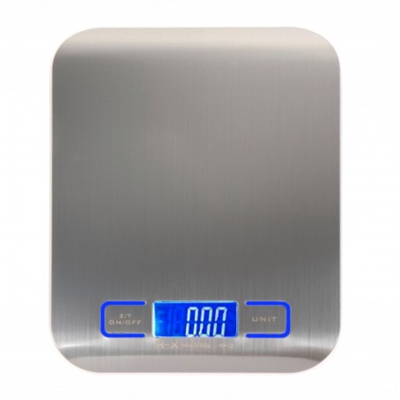 Ultra Slim Stainless Steel Kitchen Digital Scale Weight Led