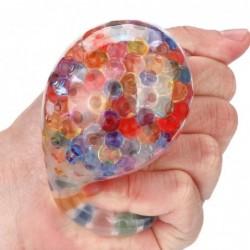 Sponge rainbow ball - stress relief - squeezable toy