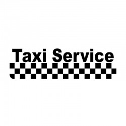 Taxi service - car vinyl...